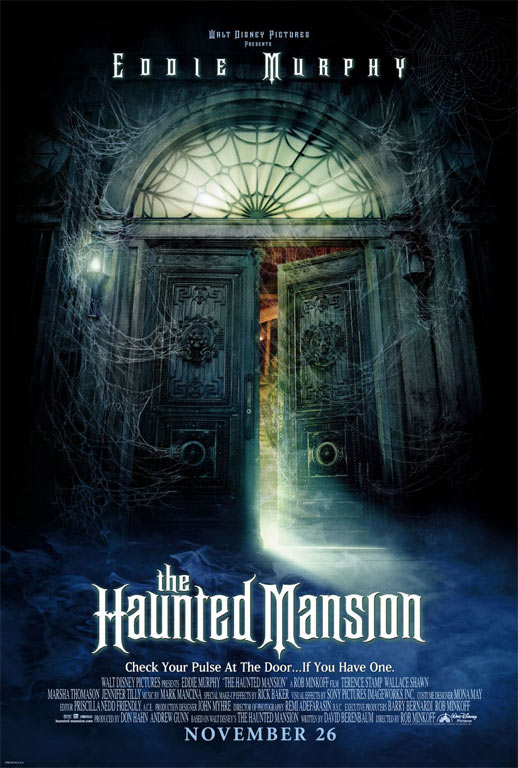 The Haunted Mansion Poster #1