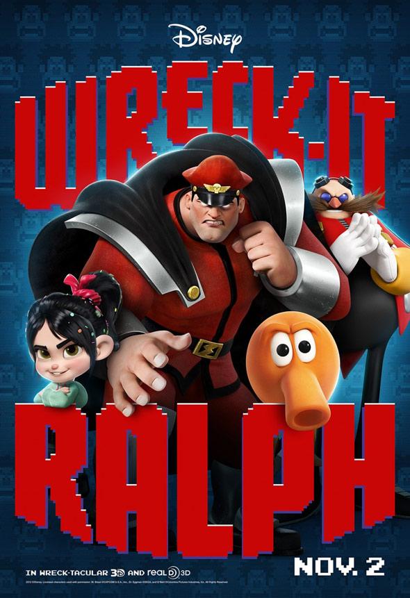 Wreck-It Ralph Poster #7