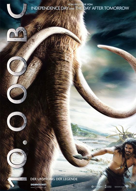 10,000 BC Poster #4