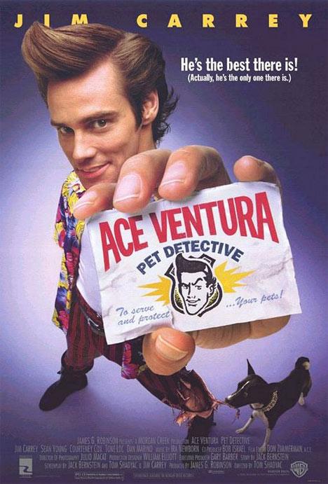 Ace Ventura- Pet Detective Poster