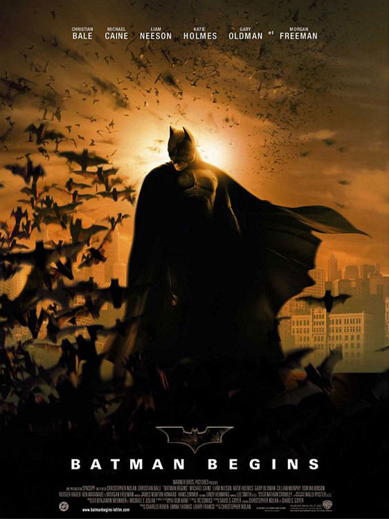 Batman Begins Poster #2