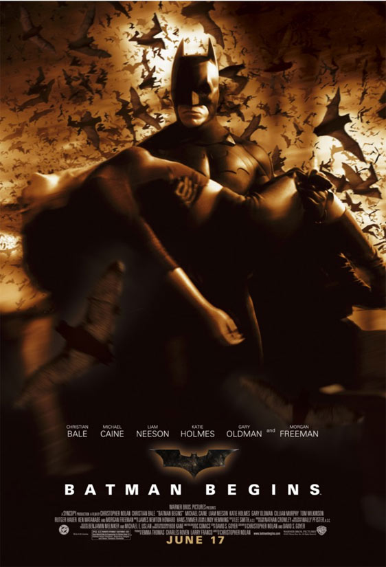 Batman Begins Poster #3