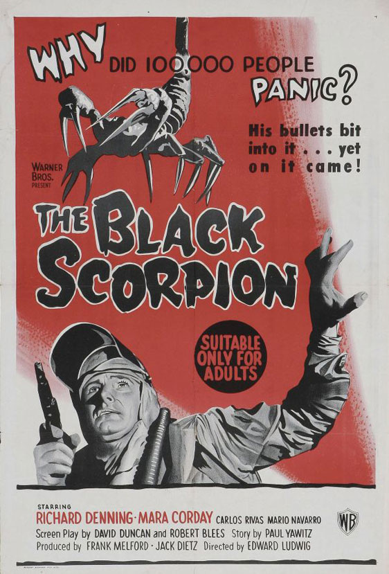 The Black Scorpion Poster #3