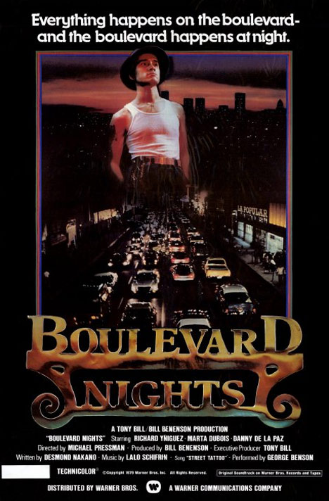 Boulevard Nights Poster