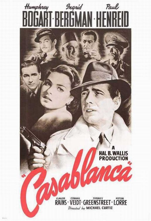 Casablanca Poster