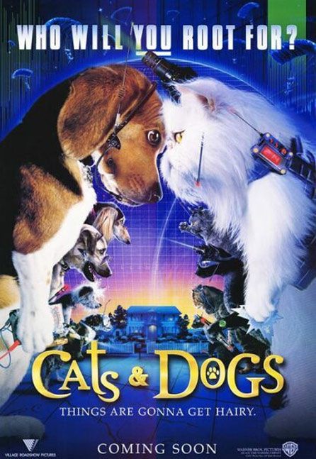 Cats & Dogs Poster #1