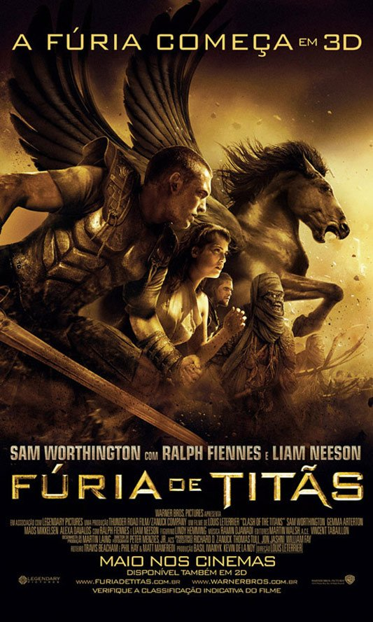 Clash of the Titans Poster #10