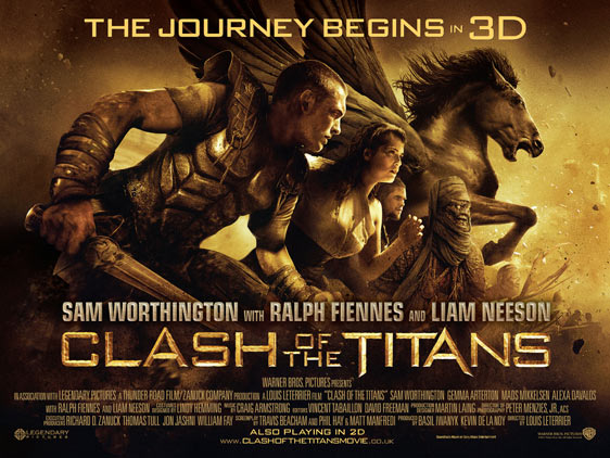 Clash of the Titans Poster #12