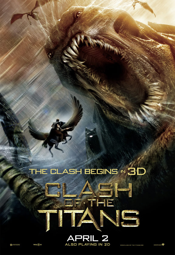 Clash of the Titans Poster #4