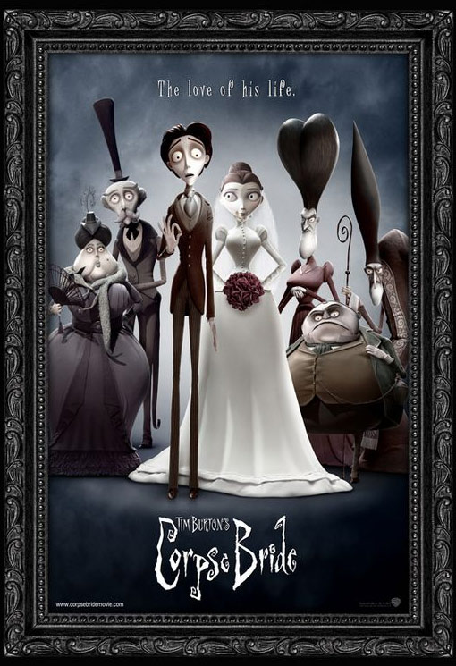 Tim Burton's Corpse Bride Poster #2
