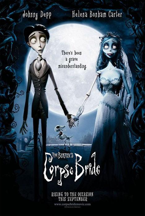 Tim Burton's Corpse Bride Poster