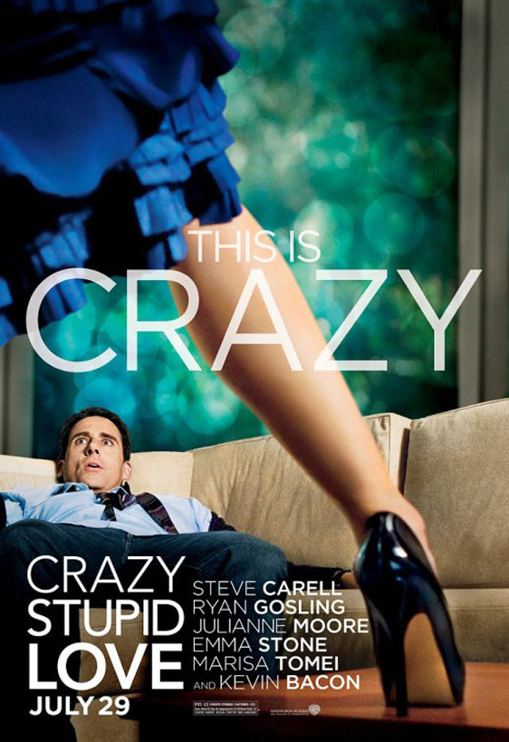 Crazy, Stupid, Love Poster #5