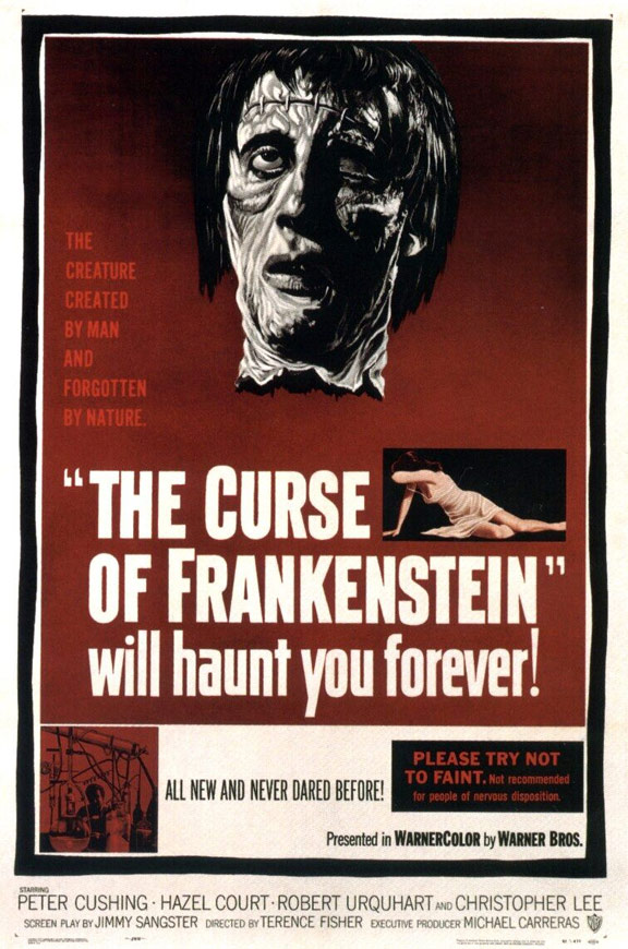 The Curse of Frankenstein Poster #1