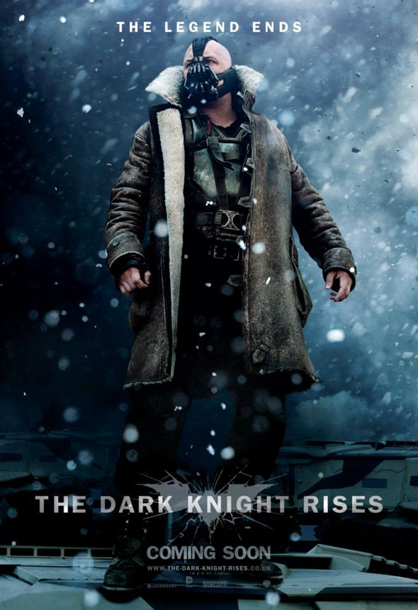 The Dark Knight Rises Poster #10