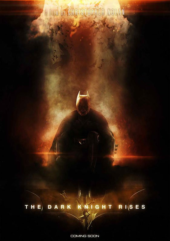 The Dark Knight Rises Poster #3