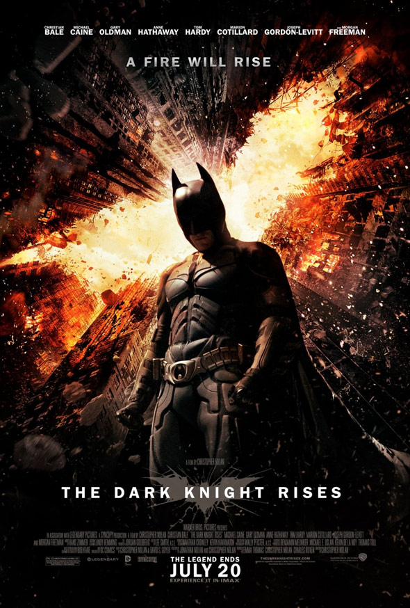 The Dark Knight Rises Poster #4