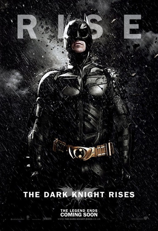 The Dark Knight Rises Poster #5