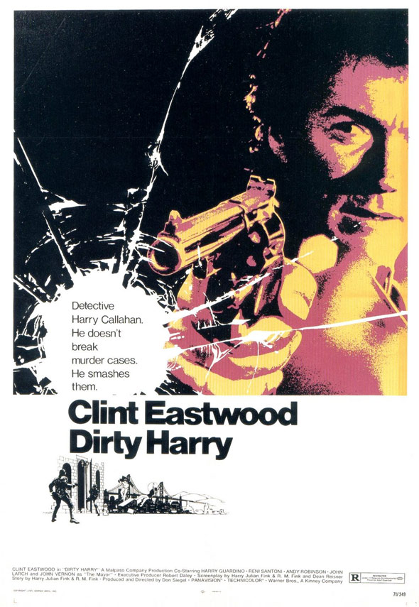 Dirty Harry Poster #1