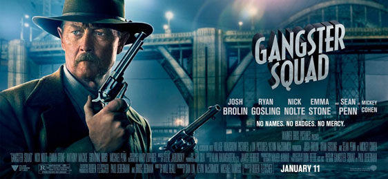 Gangster Squad Poster #14