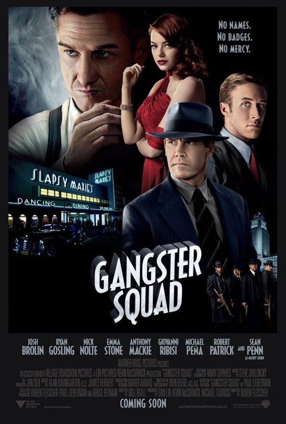 Gangster Squad Poster #16