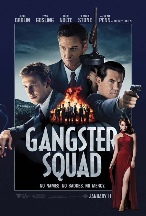 Gangster Squad Poster #2