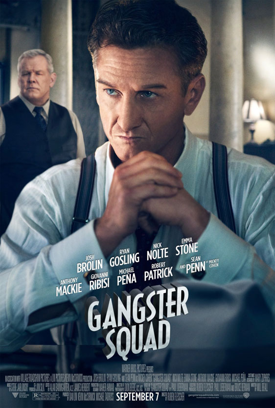 Gangster Squad Poster #4