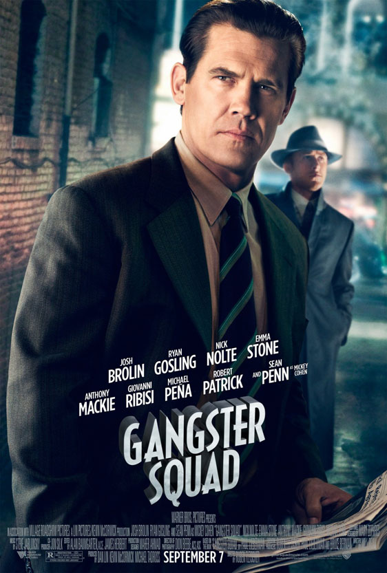 Gangster Squad Poster #5