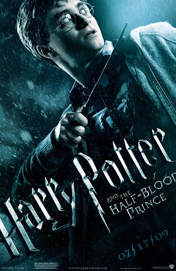 Harry Potter and the Half-Blood Prince Poster #3