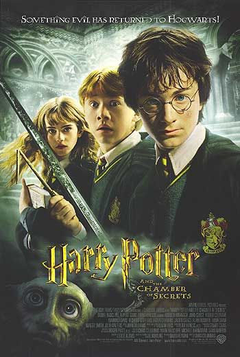 Harry Potter and the Chamber of Secrets Poster #1