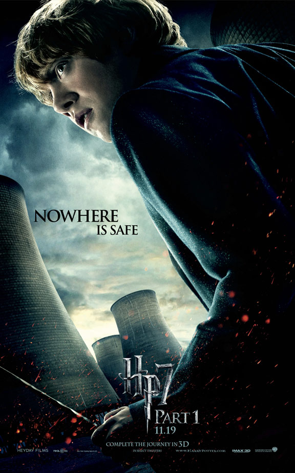 Harry Potter and the Deathly Hallows: Part I Poster #2