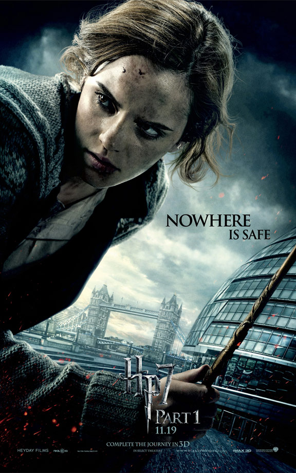 Harry Potter and the Deathly Hallows: Part I Poster #3