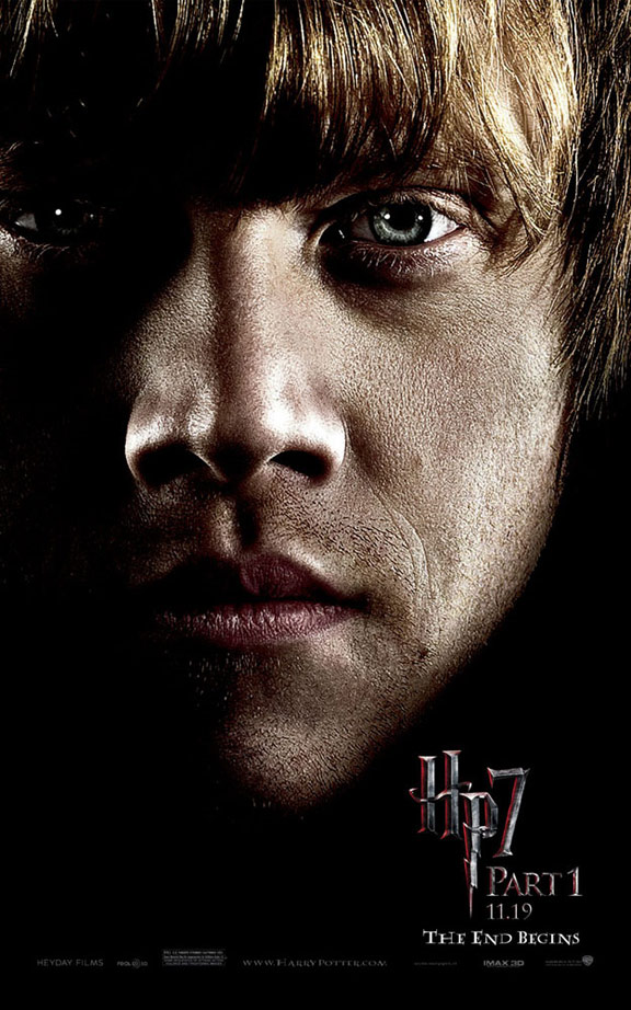 Harry Potter and the Deathly Hallows: Part I Poster #7