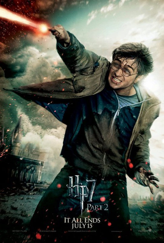 Harry Potter and the Deathly Hallows Part II Poster #19