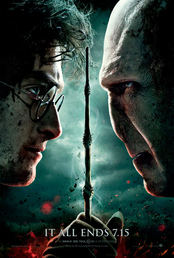 Harry Potter and the Deathly Hallows Part II Poster #2
