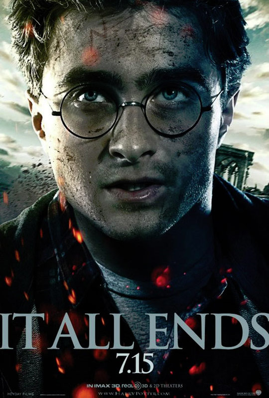 Harry Potter and the Deathly Hallows Part II Poster #3