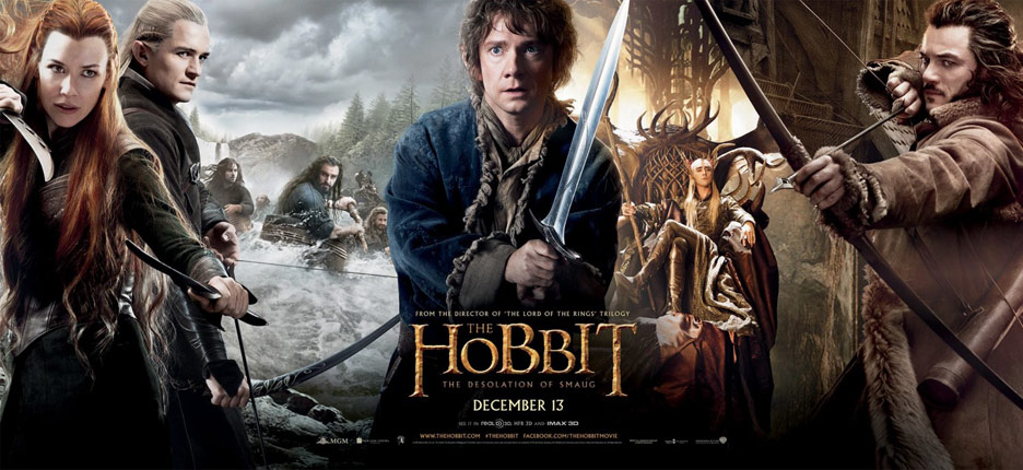 The Hobbit: The Desolation of Smaug Poster #22