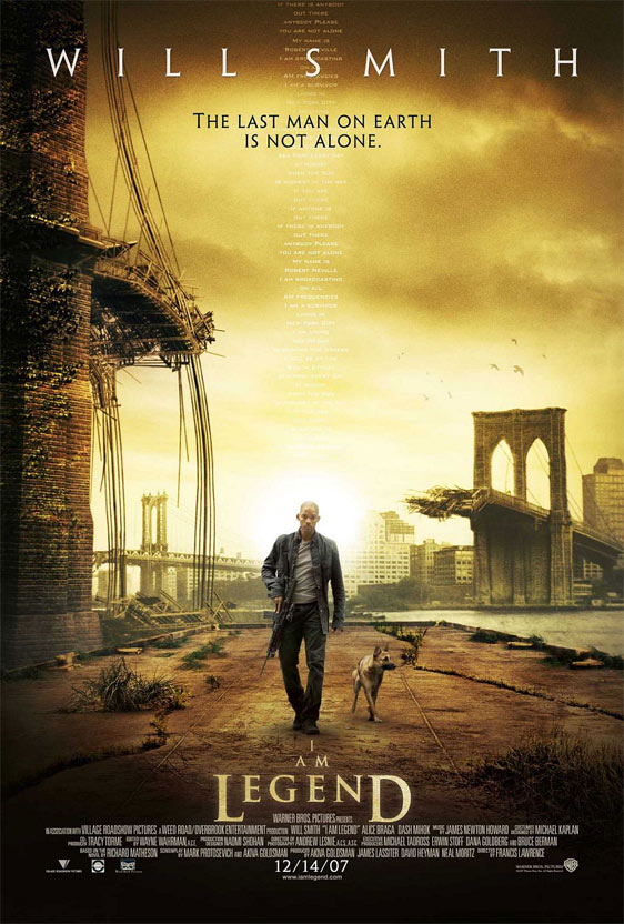 I Am Legend Poster #2