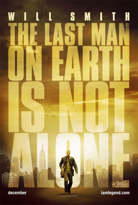 I Am Legend Poster #1