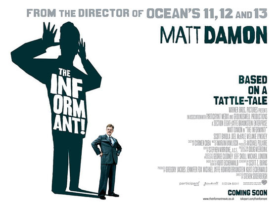 The Informant! Poster #2