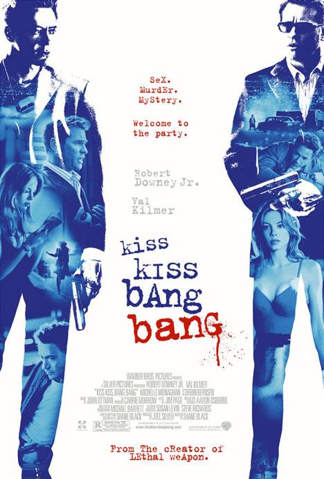 Kiss Kiss Bang Bang Poster #1