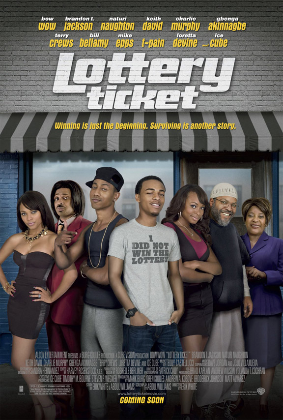 Lottery Ticket Poster #1