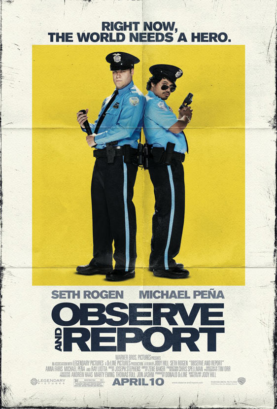 Observe and Report Poster #4