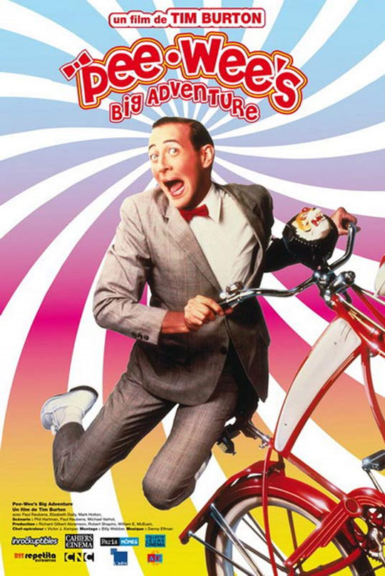 Pee-wee's Big Adventure Poster #2