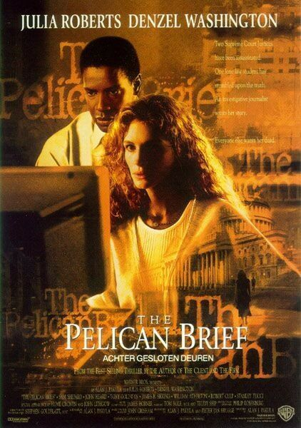 The Pelican Brief Poster #1