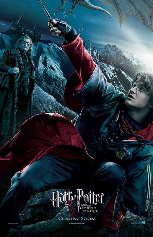Harry Potter and the Goblet of Fire Poster #3