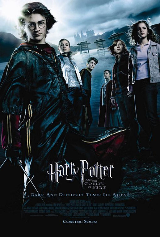 Harry Potter and the Goblet of Fire Poster #4