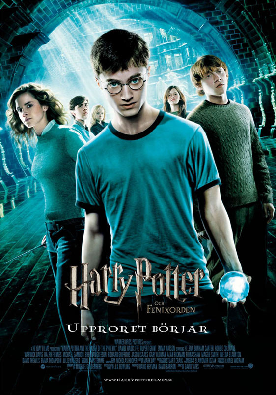 Harry Potter and the Order of the Phoenix Poster #4