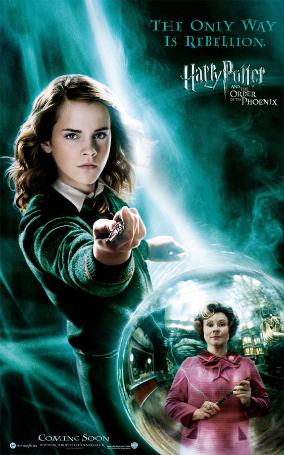 Harry Potter and the Order of the Phoenix Poster #6