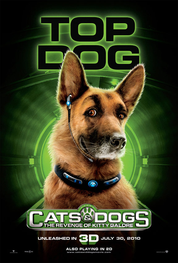 Cats & Dogs: The Revenge of Kitty Galore Poster #4