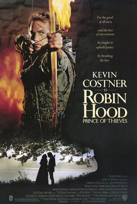 Robin Hood: Prince of Thieves Poster #1